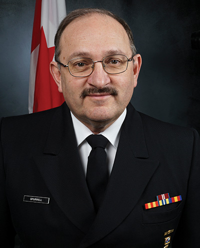 Everett Wade Spurrell, Assistant Commissioner for the Canadian Coast Guard in the Atlantic Region.