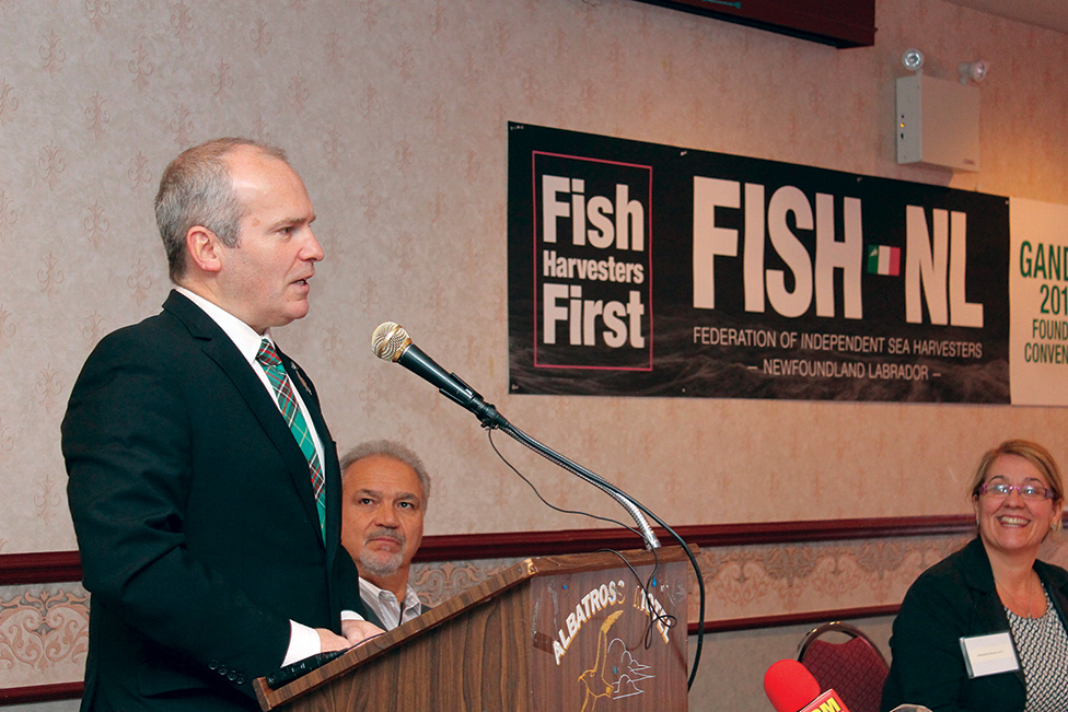 FISH-NL president Ryan Cleary.