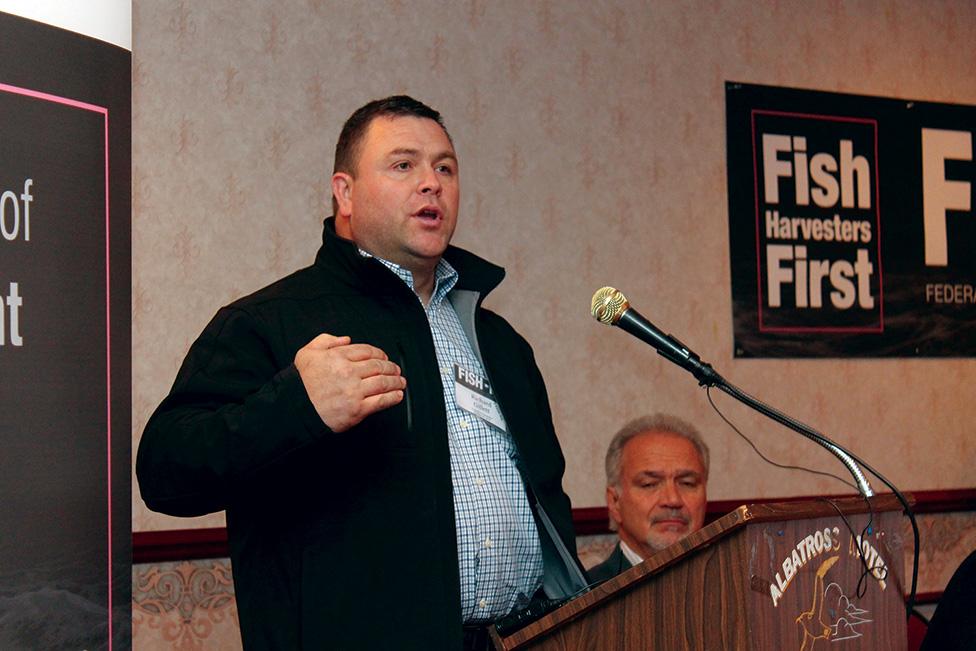 FISH-NL Vice-President Richard Gillett.