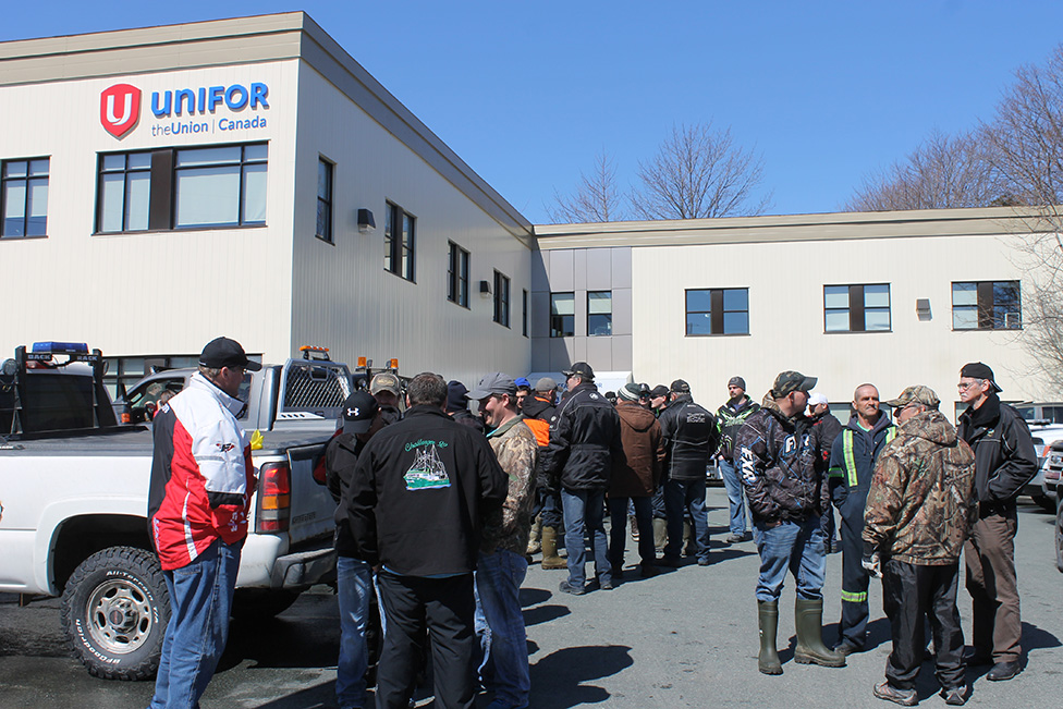 Protest at FFAW Headquarters Over for Now