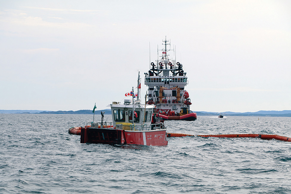 Contract Awarded for Bulk Oil Removal From Manolis L
