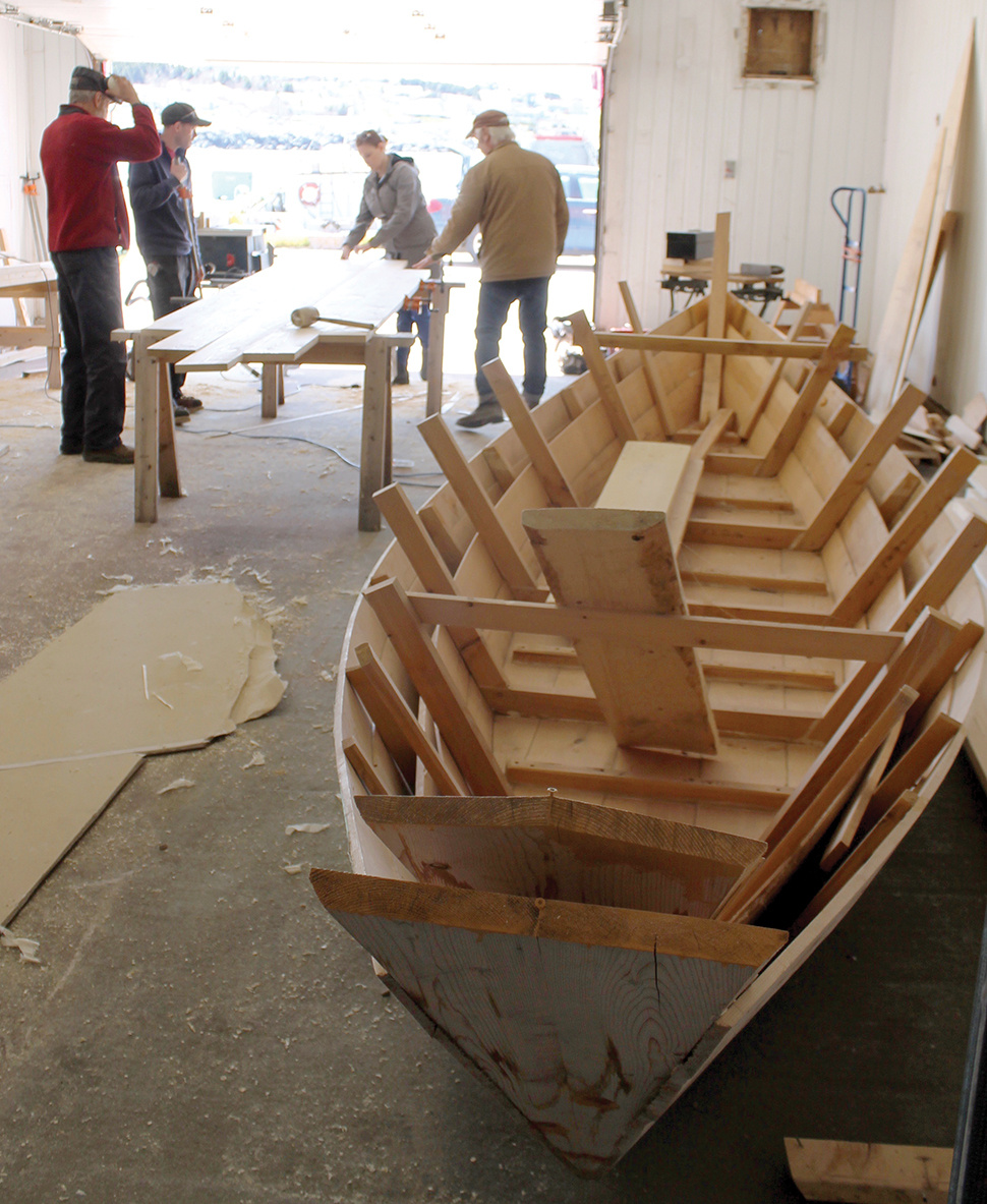 Navigator Magazine Portugal Cove St Philips Wooden Boat Building