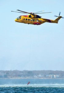 Training with the Canadian Coast Guard